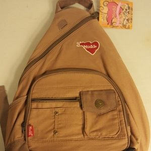 NWT Womens MUDD RUCKSACK SLING BACKPACK/SCHOOL BAG